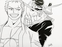 Request: Zoro by step-on-mee