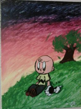 You're a Good Man, Charlie Brown (painted version) by MamaLuigi145