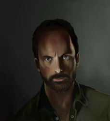 Rick Grimes by Sk3tchit