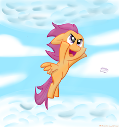 Fly, Scootaloo [Trade] by SimonOrJ