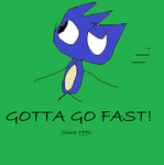 GOTTA GO FAST by SonicLover1523