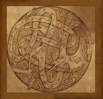Celtic Dragon by FirstKeeper