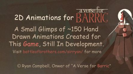 A Verse for Barric - 2D Animations for a Game by LPDisney