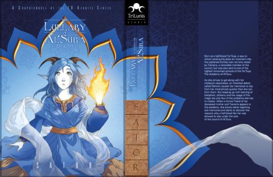 The Lullaby of Al'Sura - Book 1 Cover SATOR by kessir