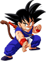 Dragon Ball - kid Goku 23 by superjmanplay2