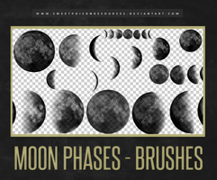 Moon Brushes | Photoshop by sweetpoisonresources