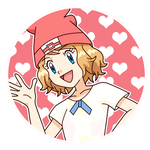 PC - Serena Fanmade Alola outfit Icon by Aquamimi123