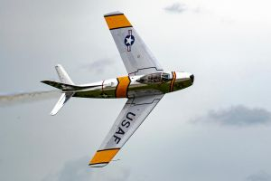 North American F-86F Sabre by arejaye