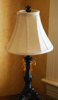 Lamp with Crystals stock 2 by caliconcept-stock