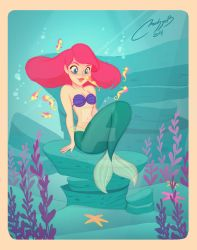 Ariel fan art by melivillosa