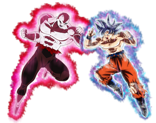 jiren vs goku by naironkr