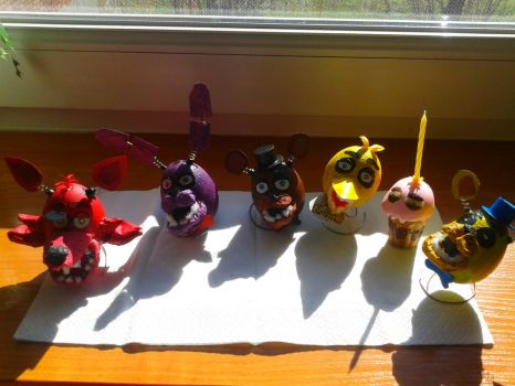 Fnaf eggs and muffin by miawell1990