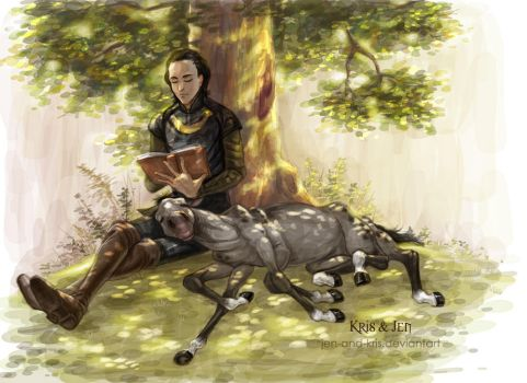 Tales for Sleipnir by jen-and-kris