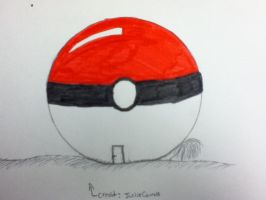 Pokeball house by SillvrMist