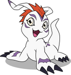 Vector #917 - Gomamon by DashieSparkle
