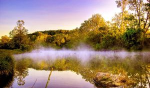 fog on water by Schwingding