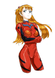 Asuka by mendics