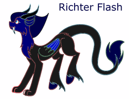 Richter Flash oc by Ravenclawrain