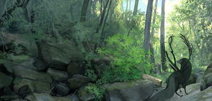 Forest Boundary by witherlings