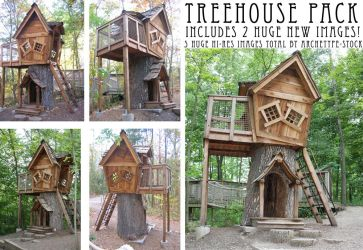Treehouse Pack by archetype-stock