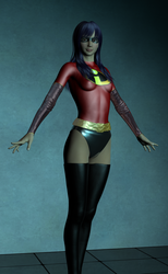 The Incredibles Violet Parr Outfit A by EmpireCityHeroines