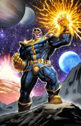 Thanos colors  by SaviorsSon