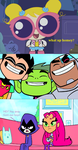 Starfire and Raven Wants Bubbles Dead by Prentis-65