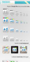 FREE Google Plus Icons by survivorcz