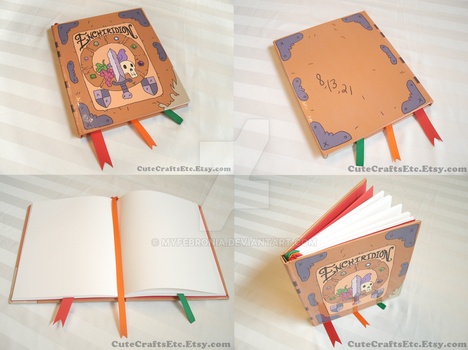 Enchiridion Large Adventure Time Book by MyFebronia