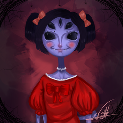 Madame Muffet by nathal32