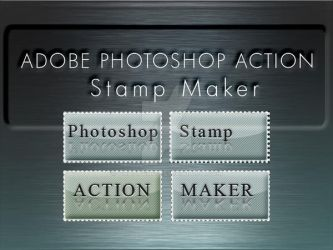 Stamp Maker Photoshop Action by Grasycho