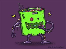Bag of CandyBot by nickv47