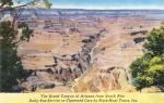 Vintage Advertising - Grand Canyon Bus Tours by Yesterdays-Paper