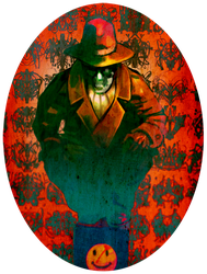 RORSCHACH fan art by akenoomokoto