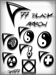 77 black arrow by jani77