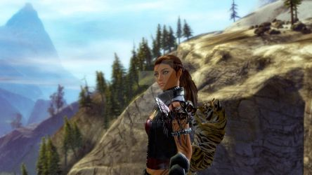 Guild Wars 2 Screenshot | Norn Ranger by Ivysaura