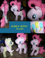 Bubble Berry plush by Awkwardly-Handsome