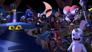 MMD: The Villains of Rayman by boogeyboy1