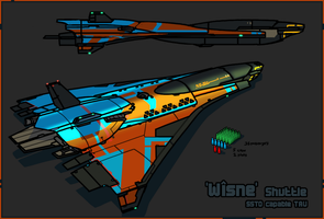 'Wisne' Shuttle by Daemoria