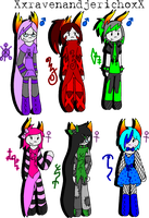 Fantroll Adoptables- Closed! by FlamingPulse