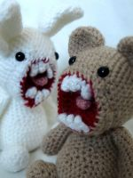 Mr Bunnyford and Horace Behr by MaffersToys
