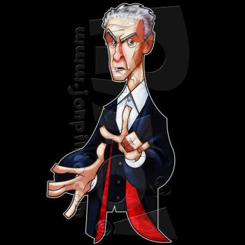 12th Doctor: 'Toon Style by jonpinto