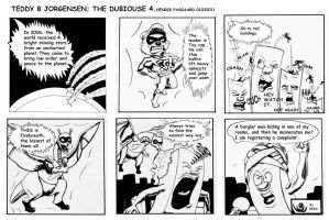 THE DUBIOUSE 4 by artlinerscum