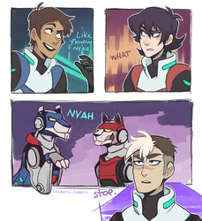 Voltron Legendary Memer by ikimaru-art