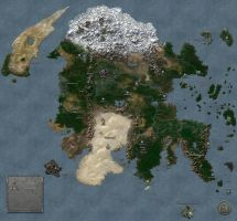 Continent of Enroth by MarkonPhoenix