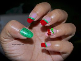 Cherry Nails by Gorgeousnails