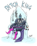 Bitch King by ImoonArt