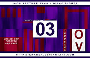 Disco Lights - Icon Texture Pack #03 by KhanDR