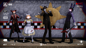 [MMD|FNAF] Old Animatronics [DL] by DefectDoll-Misao