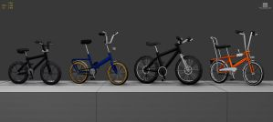 LowPolyBikes by pixelchaot